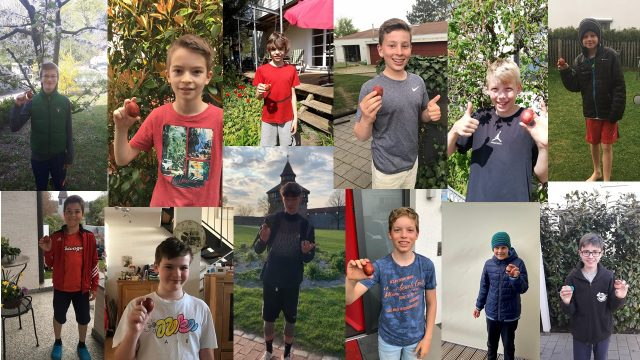 Kontaktlose Teamarbeit mit Eiersuche – Warum junge Kirchheimer Basketballer sehr spannende Ostern erlebten