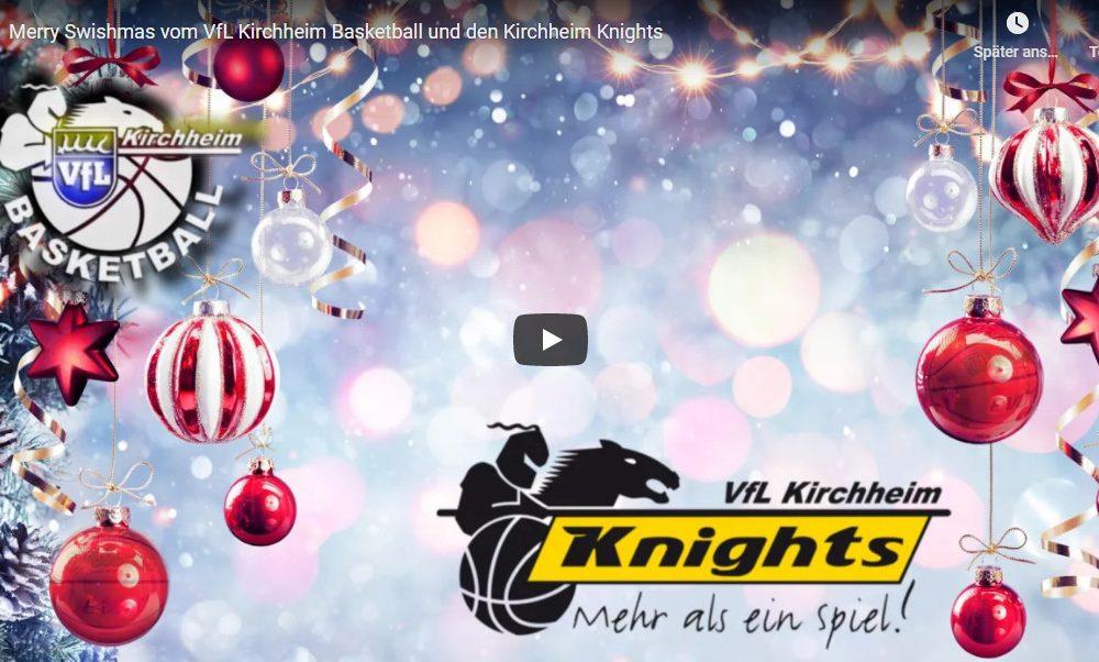 Merry Swishmas vom VfL Kirchheim Basketball